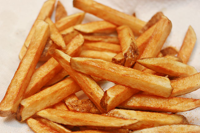 Homemade French Fries Recipe — Dishmaps